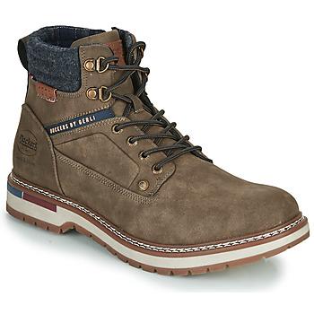 Sapatos Homem Botas baixas Dockers by Gerli 47AF001 Cáqui