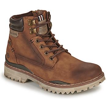Sapatos Homem Botas baixas Dockers by Gerli 47LY001 Castanho