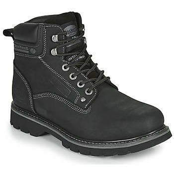 Sapatos Homem Botas baixas Dockers by Gerli 23DA004 Preto