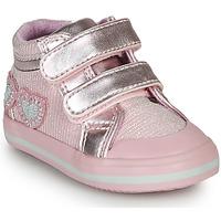 Sapatos Rapariga Sapatilhas de cano-alto Chicco GEORGIAN Rosa