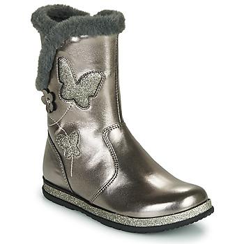 Sapatos Rapariga Botas Chicco CAMPANELLA Prata