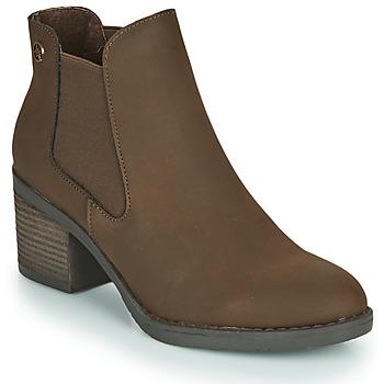 Sapatos Mulher Botins Chattawak TEXAS Castanho