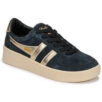Sapatos Mulher Sapatilhas Gola GRANDSLAM PEARL Preto / Ouro