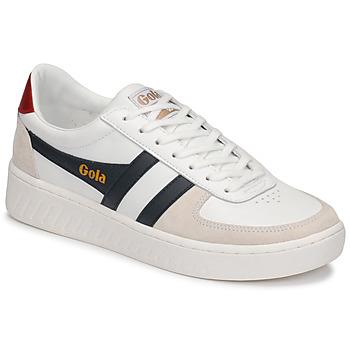 Sapatos Homem Sapatilhas Gola GRANDSLAM CLASSIC Branco / Marinho