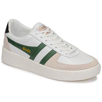 Sapatos Homem Sapatilhas Gola GRANDSLAM CLASSIC Branco / Verde