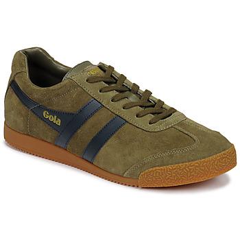 Sapatos Homem Sapatilhas Gola HARRIER Cáqui / Marinho