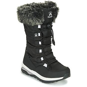Sapatos Rapariga Botas de neve KAMIK PRAIRIE Preto