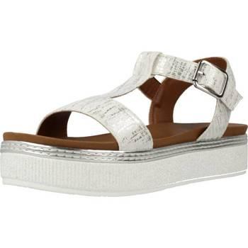 Sapatos Mulher Sandálias Café Noir GC913 Silver