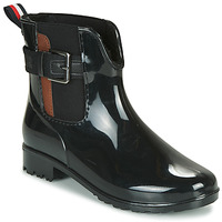 Sapatos Mulher Botas de borracha Tom Tailor 92306-NOIR Preto