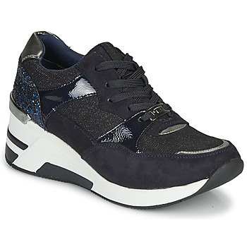 Sapatos Mulher Sapatilhas Tom Tailor 92610-BLEU Azul