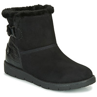 Sapatos Mulher Botas baixas Tom Tailor 93105-NOIR Preto