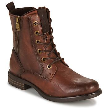 Sapatos Mulher Botas baixas Tom Tailor 93303-COGNAC Conhaque