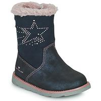 Sapatos Rapariga Botas Tom Tailor 72307-BLEU Azul