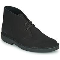 Sapatos Homem Botas baixas Clarks DESERT BOOT 2 Preto