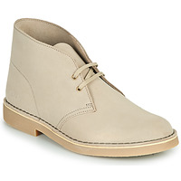 Sapatos Homem Botas baixas Clarks DESERT BOOT 2 Areia