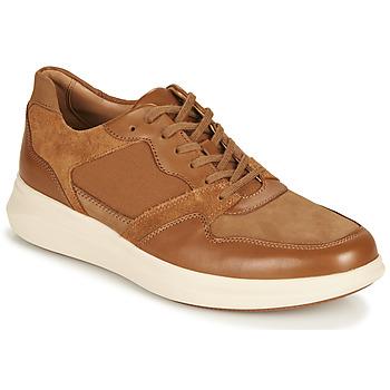 Sapatos Homem Sapatilhas Clarks UN GLOBE RUN Camel