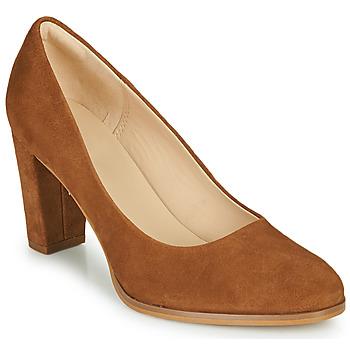 Sapatos Mulher Escarpim Clarks KAYLIN CARA 2 Camel