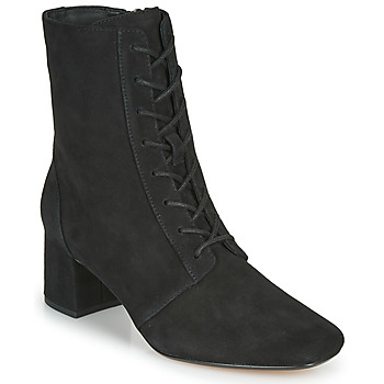 Sapatos Mulher Botins Clarks SHEER55 LACE Preto