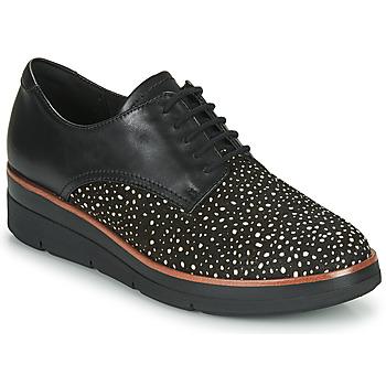 Sapatos Mulher Sapatos Clarks SHAYLIN LACE Preto