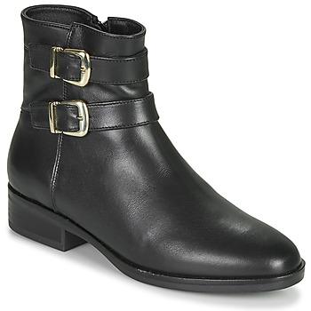 Sapatos Mulher Botas baixas Clarks PURE MID Preto