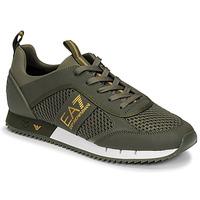 Sapatos Homem Sapatilhas Emporio Armani EA7 XK050 Cáqui