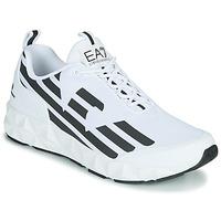 Sapatos Homem Sapatilhas Emporio Armani EA7 XCC52 Branco / Preto