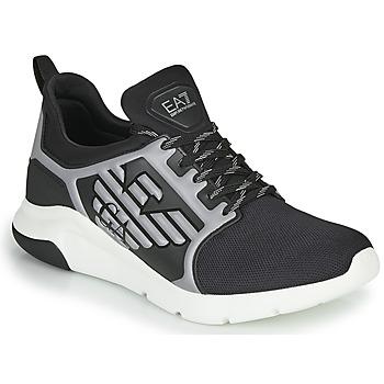 Sapatos Homem Sapatilhas Emporio Armani EA7 XCC55 Preto