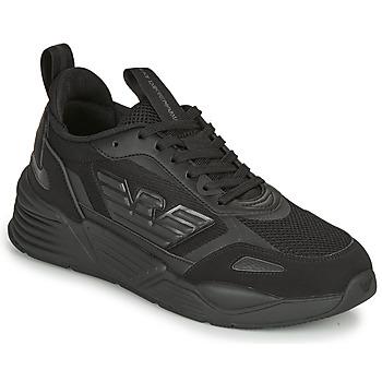 Sapatos Homem Sapatilhas Emporio Armani EA7 XK165 Preto