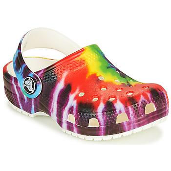 Sapatos Criança Tamancos Crocs CLASSIC TIE DYE GRAPHIC CLOG K Multicolor
