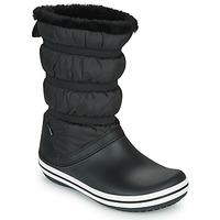 Sapatos Mulher Botas de neve Crocs CROCBAND BOOT W Preto