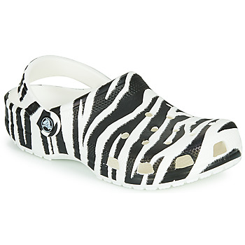 Sapatos Mulher Tamancos Crocs CLASSIC ANIMAL PRINT CLOG Zebra