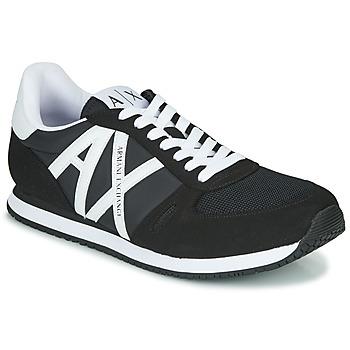 Sapatos Homem Sapatilhas Armani Exchange XCC68-XUX017 Preto