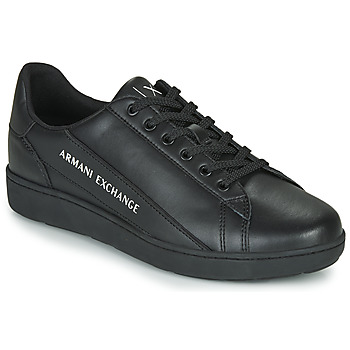 Sapatos Homem Sapatilhas Armani Exchange XV262-XUX082 Preto
