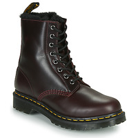 Sapatos Mulher Botas baixas Dr Martens 1460 SERENA Bordô