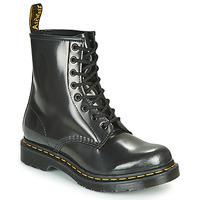 Sapatos Mulher Botas baixas Dr Martens 1460 W Prata
