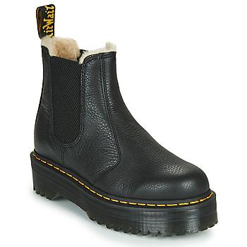 Sapatos Mulher Botas baixas Dr Martens 2976 QUAD FL Preto