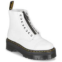 Sapatos Mulher Botas baixas Dr Martens SINCLAIR Branco