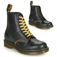 Sapatos Homem Botas baixas Dr Martens 1460 PASCAL ATLAS Preto