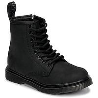Sapatos Criança Botas baixas Dr Martens 1460 SERENA MONO J Preto