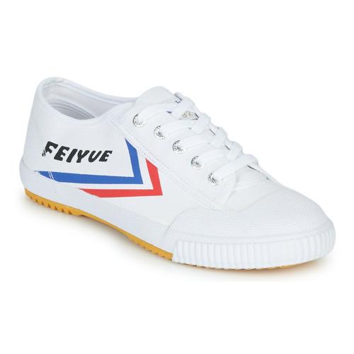 Sapatos Sapatilhas Feiyue FE LO 1920 Branco / Azul / Vermelho