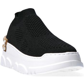 Sapatos Mulher Sapatilhas Emanuélle Vee 401P-500-15-T036 Black