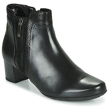 Sapatos Mulher Botins Gabor 5282857 Preto