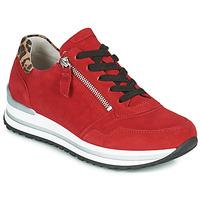 Sapatos Mulher Sapatilhas Gabor 5652838 Vermelho