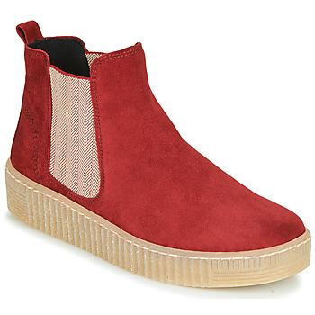 Sapatos Mulher Botas baixas Gabor 5373118 Vermelho