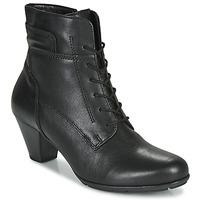 Sapatos Mulher Botins Gabor 5564427 Preto