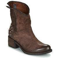 Sapatos Mulher Botas baixas Airstep / A.S.98 OPEA STUDS Castanho
