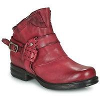 Sapatos Mulher Botas baixas Airstep / A.S.98 SAINT EC STRAPE Bordô