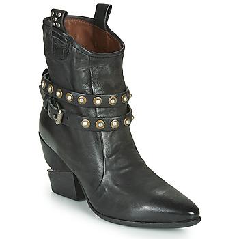 Sapatos Mulher Botins Airstep / A.S.98 TINGET BUCKLE Preto