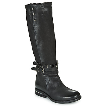 Sapatos Mulher Botas Airstep / A.S.98 TEAL HIGH Preto