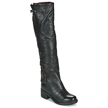 Sapatos Mulher Botas Airstep / A.S.98 NOVA 17 HIGH Preto